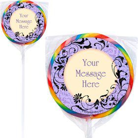 Dawn Personalized Lollipop (pack of 12)
