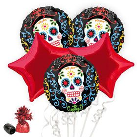Day of the Dead Balloon Bouquet Kit