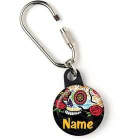 "Day of the Dead Personalized 1"" Carabiner (Each)"
