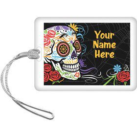 Day of the Dead Personalized Bag Tag (Each)