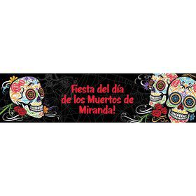 Day of the Dead Personalized Banner (Each)