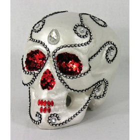 Day of the Dead Skull Decoration (1)