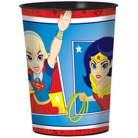 DC Super Hero Girls 16oz Plastic Favor Cup