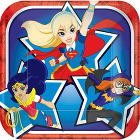 "DC Super Hero Girls 7"" Cake Plates (8 Count)"