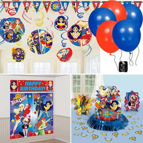 DC Super Hero Girls Decoration Kit