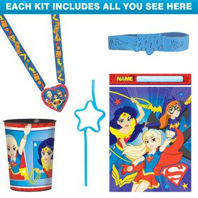 DC Super Hero Girls Favor Kit (Each)