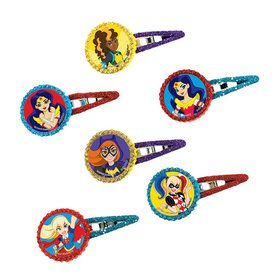 DC Super Hero Girls Hair Clips (12 Count)