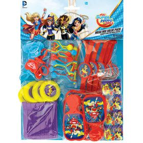 DC Super Hero Girls Mega Favor Pack (For 8 Guests)