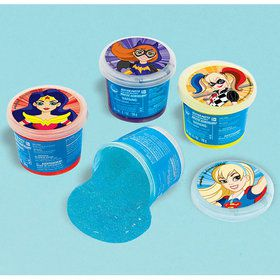 DC Super Hero Girls Ooze Putty Favor (1)