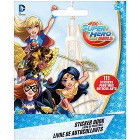 DC Super Hero Girls Sticker Book (9 Sheets)