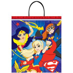 DC Superhero Girls Plastic Loot Bag (Each)
