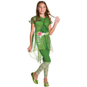 DC SuperHero Poison Ivy Deluxe Kids Costume