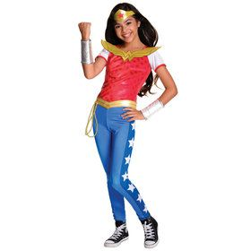 DC SuperHero Wonder Woman Deluxe Kids Costume