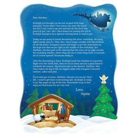 Decorating The North Pole Personalized L