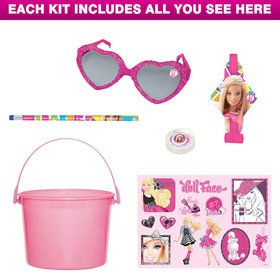 Deluxe Barbie Party Favor Kit