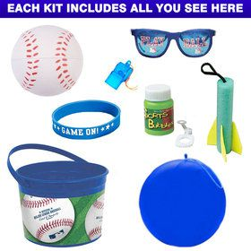 Deluxe Baseball Party Favor Kit