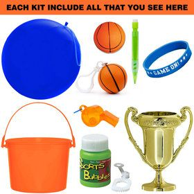 Deluxe Basketball Party Favor Kit