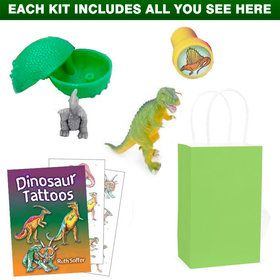 Deluxe Dinosaur Birthday Party Favor Kit