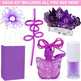 Deluxe Fairy Birthday Party Favor Kit