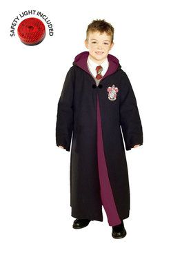 Deluxe Gryffindor Robe Children's Costume