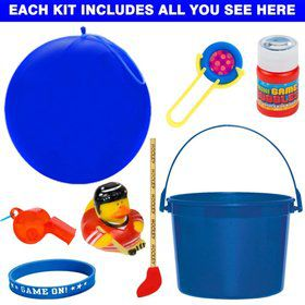 Deluxe Hockey Party Favor Kit