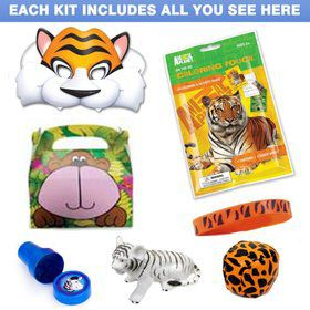 Deluxe Jungle Birthday Party Favor Kit