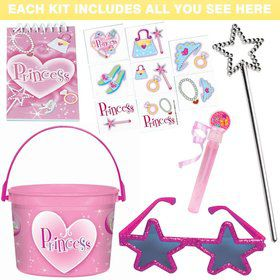 Deluxe Pink Princess Favor Kit