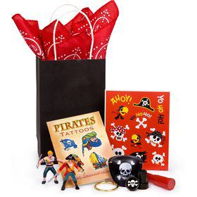 Deluxe Pirate Birthday Party Favor Kit