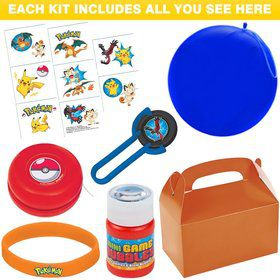 Deluxe Pokemon Party Favor Kit