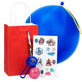 Deluxe Power Rangers Favor Kit (For 1 Guest)