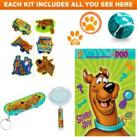 Deluxe Scooby Doo Favor Kit (for 1 Guest)