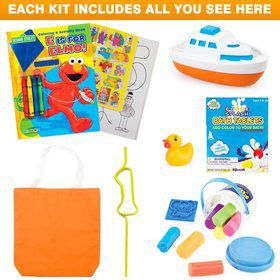 Deluxe Sesame Street 1st Birthday Favor Kit (for 1 Guest)