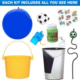 Deluxe Soccer Party Favor Kit