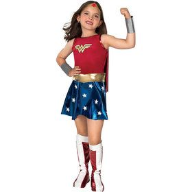 Deluxe Wonder Woman Childrens Costume