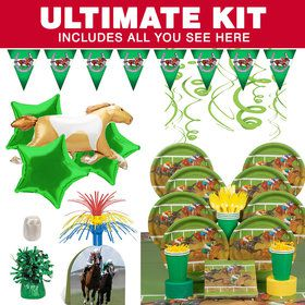 Derby Days Ultimate Party Tableware Kit (Serves 8)