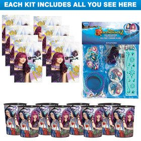 Descendants 2 Party Favor Kit (For 8 Guests)