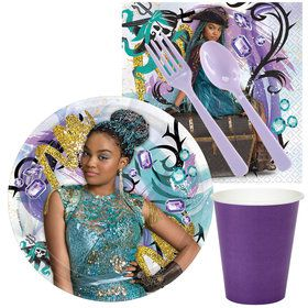 Descendants 2 Uma Standard Tableware Kit (Serves 8)