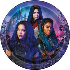Descendants 3 Lunch Plates