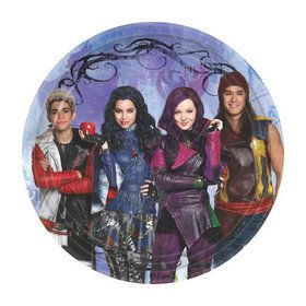 "Descendants 7"" Dessert Plate (8 Pack)"