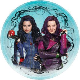 "Descendants 9"" Luncheon Plate (8 Count)"