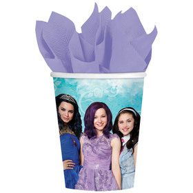 Descendants 9oz Cups (8 Count)