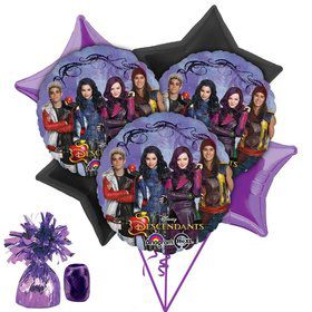 Descendants Balloon Bouquet (Each)