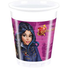 Descendants Plastic 6.7 oz Cups (8 Pack)
