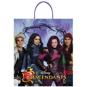 Descendants Plastic Loot Bag (Each)