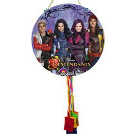 Descendants Pull String Economy Pinata