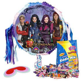 Descendants Pull String Pinata Kit