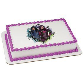Descendants Quarter Sheet Edible Cake Topper (Each)