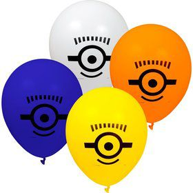"Despicable Me 12"" Balloons (8 Count)"