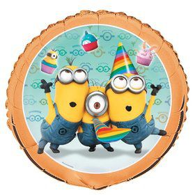 "Despicable Me 18"" Foil Balloon (Each)"