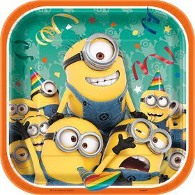 "Despicable Me 7"" Plates (8 Count)"